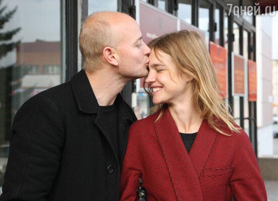 Наталья Водянова с бывшим  мужем Джастином Портманом