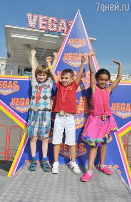 Победители детского заезда