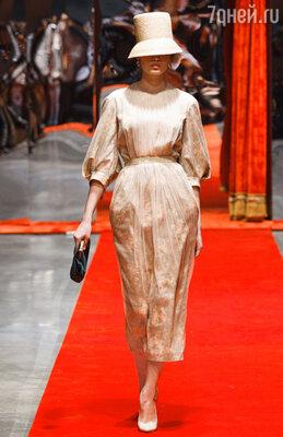 Коллекция одежды Ульяны Сергеенко весна-лето 2012