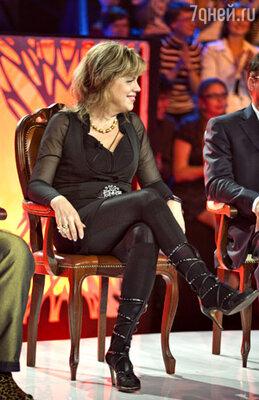 Член жюри Любовь Казарновская
