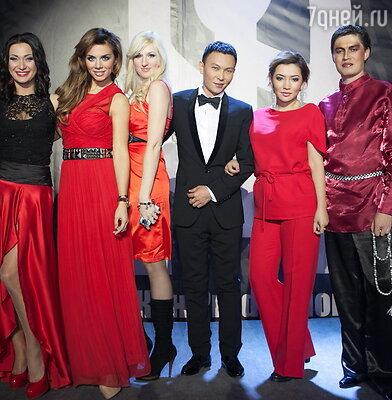 Анна Седокова на шоу «Седьмая Раса»