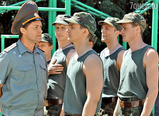 Кадр сериала «Солдаты и офицеры»