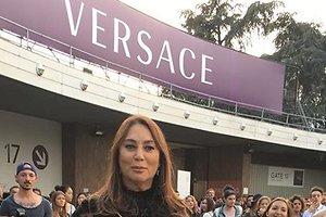 Образ дня: Алла Вербер в Atelier Versace