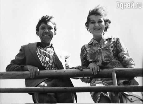 Юрий Никулин с женой Татьяной