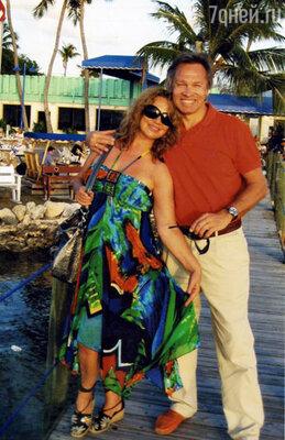 Алексей Пушков с женой
