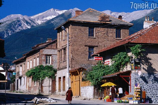 Улица Pirin, Банско, Болгария
