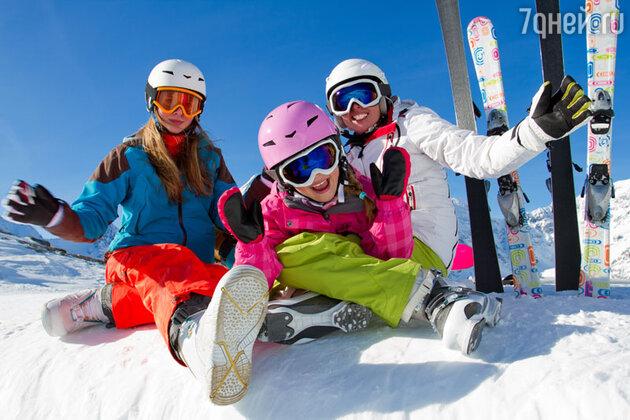 Где научиться кататься на лыжах