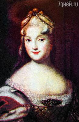 Екатерина Алексеевна Долгорукая метила в императрицы, но была заточена в монастырь. (Репродукция портрета Екатерины Долгорукой работы неизвестного художника)