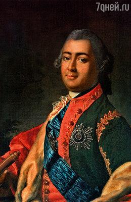 ������� ����������� (���������� �����) � ���������� ������� ����������� ��������� ��������. (����������� �������� ������� ������������ ������ ������������ ���������. 1770-� ��.)