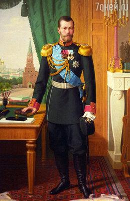 Николай II ничего не сделал, чтобы спасти империю. (Портрет Николая II работы неизвестного автора)