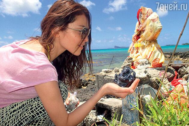 Сати Казанова на  Маврикии