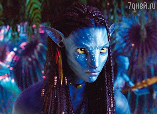 Нейтири, дочь вождя племени на'ви, была «оживлена» при помощи технологии «motion capture»