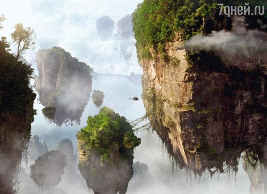 Мир планеты Пандора, с его невероятными обитателями и летающими скалами, Джеймс Кэмерон продумал до мельчайших деталей