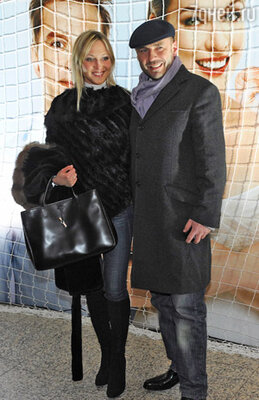 Александр Жулин с подругой