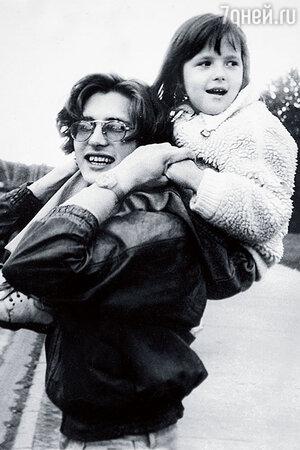 Ян Пузыревский с племянницей Полиной