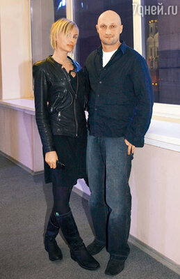 Гоша Куценко со своей подругой Ириной Скриниченко