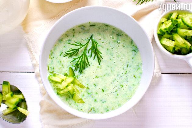 Огуречный суп: рецепт от шеф-повара Мишеля Ломбарди