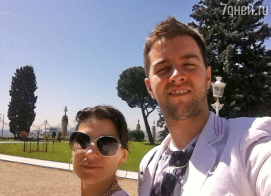 Екатерина Воронина с мужем