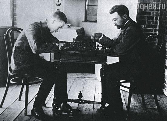 Молодому Сергею Прокофьеву прочили блестящую карьеру шахматиста