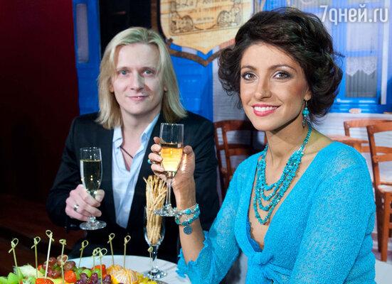 Анастасия Макеева с мужем Глебом Матвейчуком