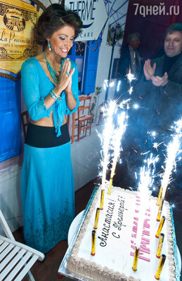 Первый выход известной актрисы на сцену совпал с ее днем рождения