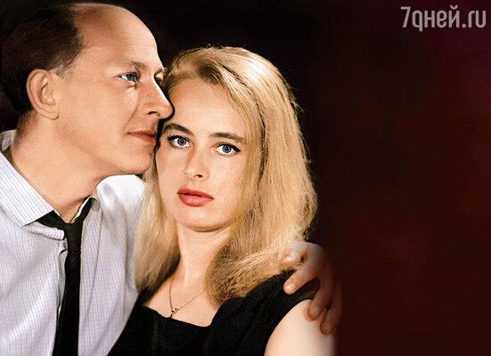 Евгений Евстигнеев и Лилия Журкина