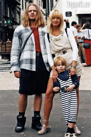 Кристина Орбакайте и Владимир Пресняков с сыном Никитой