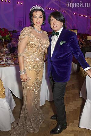 Ирина Винер и Валентин Юдашкин