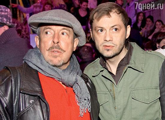 Давние приятели по рок-тусовке Андрей Макаревич и Григорий Константинопольский