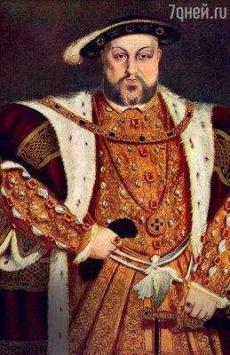 Генрих VIII (в коридорах Виндзорского дворца до сих пор слышны его неровные— из-за больной ноги — шаги)...