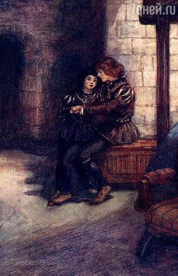 В Тауэре, где, по легенде, были умерщвлены юные принцы Эдуард и Ричард, можно встретиться с их призраками