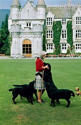 В Балморале, своей любимой загородной резиденции, королева как-то раз повстречала призрак того самого Джона Брауна