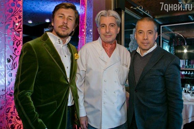 Андрей Фомин, Александр Комм и Аркадий Новиков