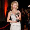 Скарлетт Йоханссон 2004 год. На церемонии вручения премии BAFTA в Лондоне в Prada