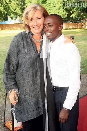 Эмма Томпсон с сыном