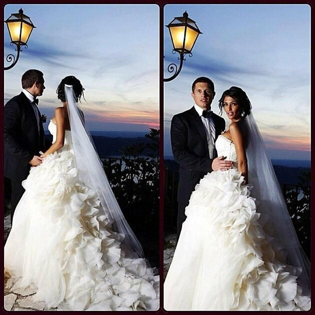 Свадьба Санты Димопулос и Владимира Самсоненко