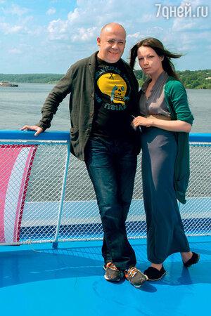 Алексей Герман-младший с женой