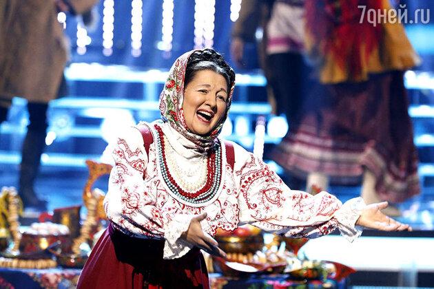 Марина Кравец в образе Руслановой