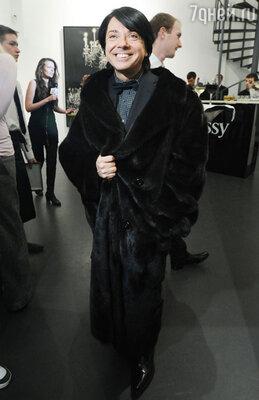 Валентин Юдашкин на премьере фильма «Артист». 2012 г.
