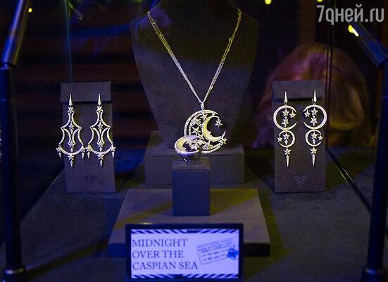 На мероприятии была представлена коллекция ювелирных произведений «Путешествие от кутюр».