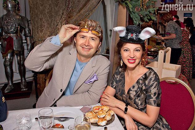 Александр Селезнев и  Алиса Толкачева