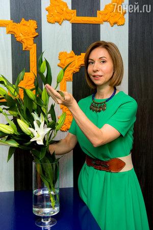 Ведущая шоу «Сделано со вкусом» на канале ТНТ Елена Усанова