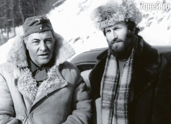 Рядом с Вячеславом Тихоновым мой третий муж Валерий Леонтьев. Он ставил трюки на многих картинах «Мосфильма»