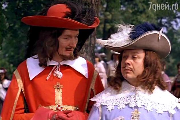 Кардинал Ришелье (Александр Трофимов) и король Людовик XIII (Олег Табаков)