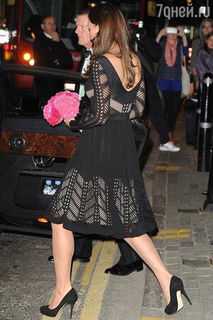 Кейт Миддлтон в платье от Temperley London на приеме Autumn Gala Evening