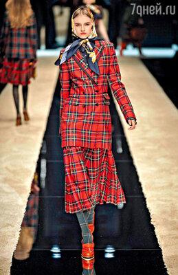 Скромная косынка Аленушки от «Dolce & Gabbana»