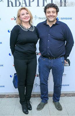 Михаил Полицеймако с супругой