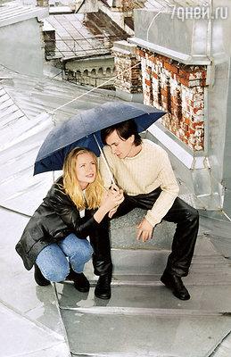 Второй муж Марии Мироновой, Дмитрий Клоков, влюбился в нее во время съемок картины «Свадьба». 2000 г.