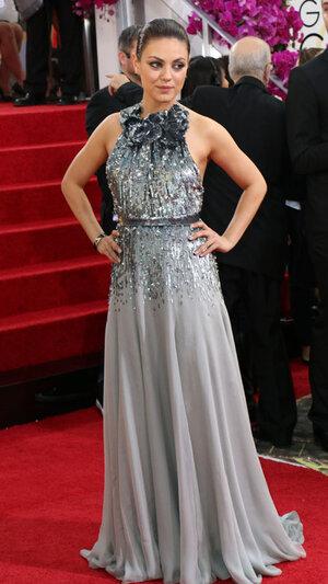 Мила Кунис (Mila Kunis)  на церемонии «Золотой глобус-2014»