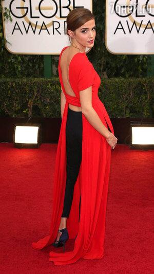 Эмма Уотсон (Emma Watson) на  церемонии «Золотой глобус-2014»